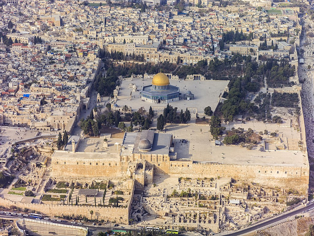 1024px Israel 20132 Aerial Jerusalem Temple Mount Temple Mount south exposure