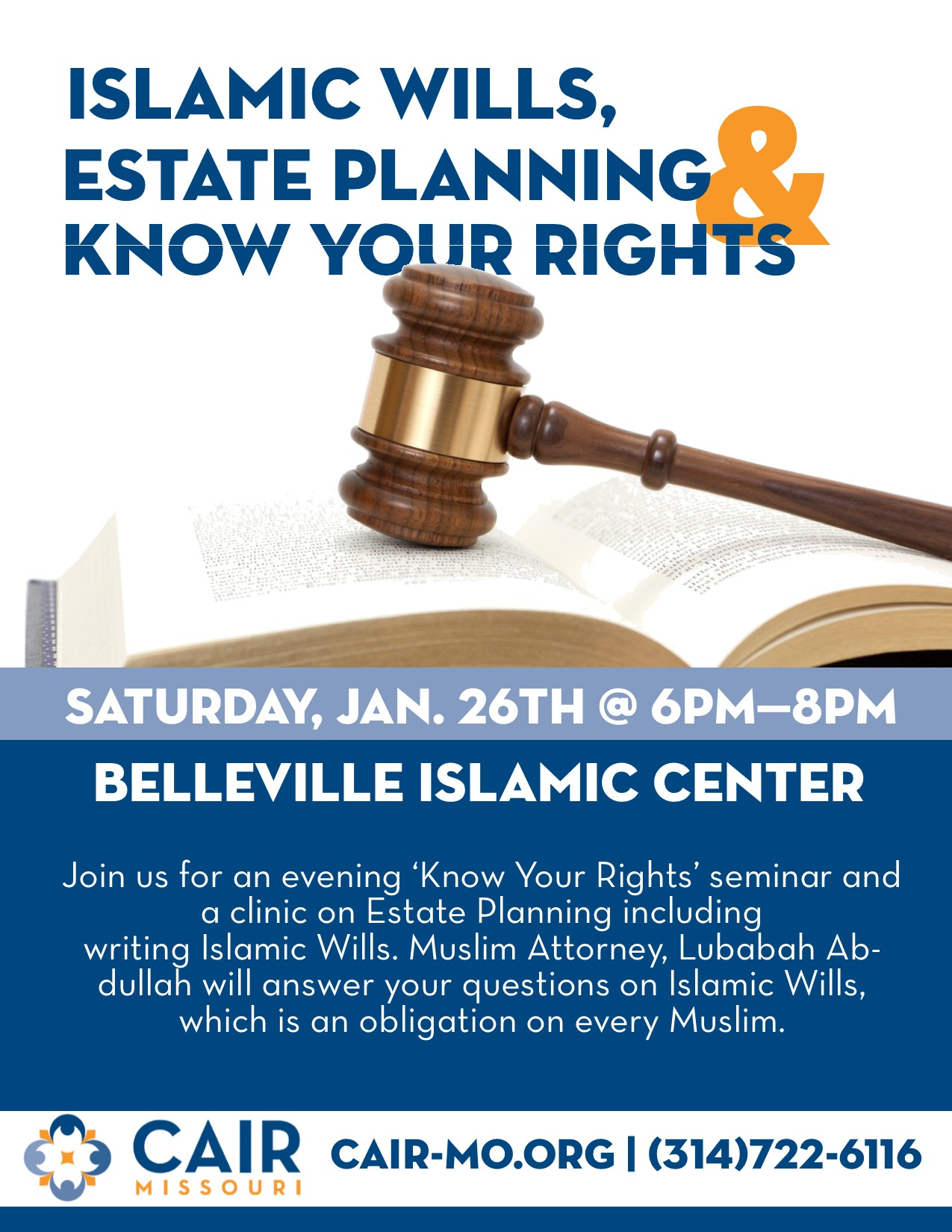 Belleville Islamic Center Flyer