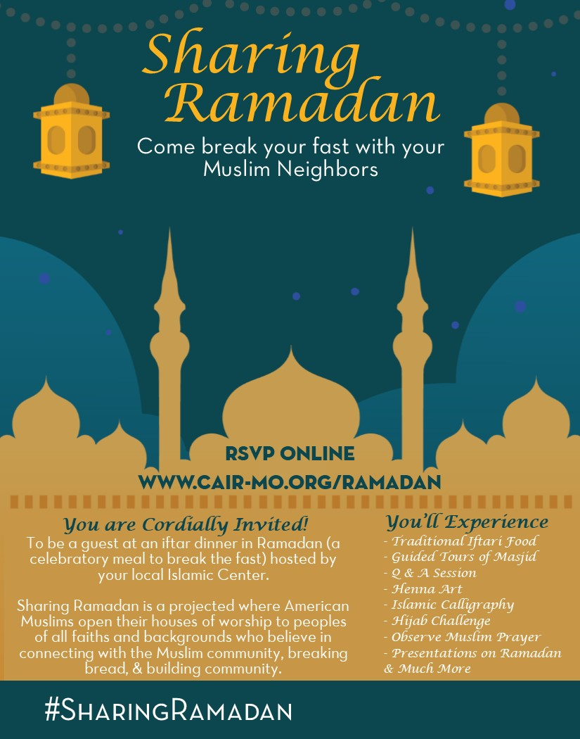 General Flyer for Sharing Ramadan