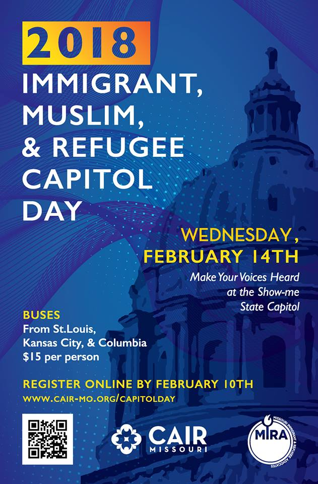 Immigrant Muslim Refugee Missouri Capitol Day CAIR Missouri