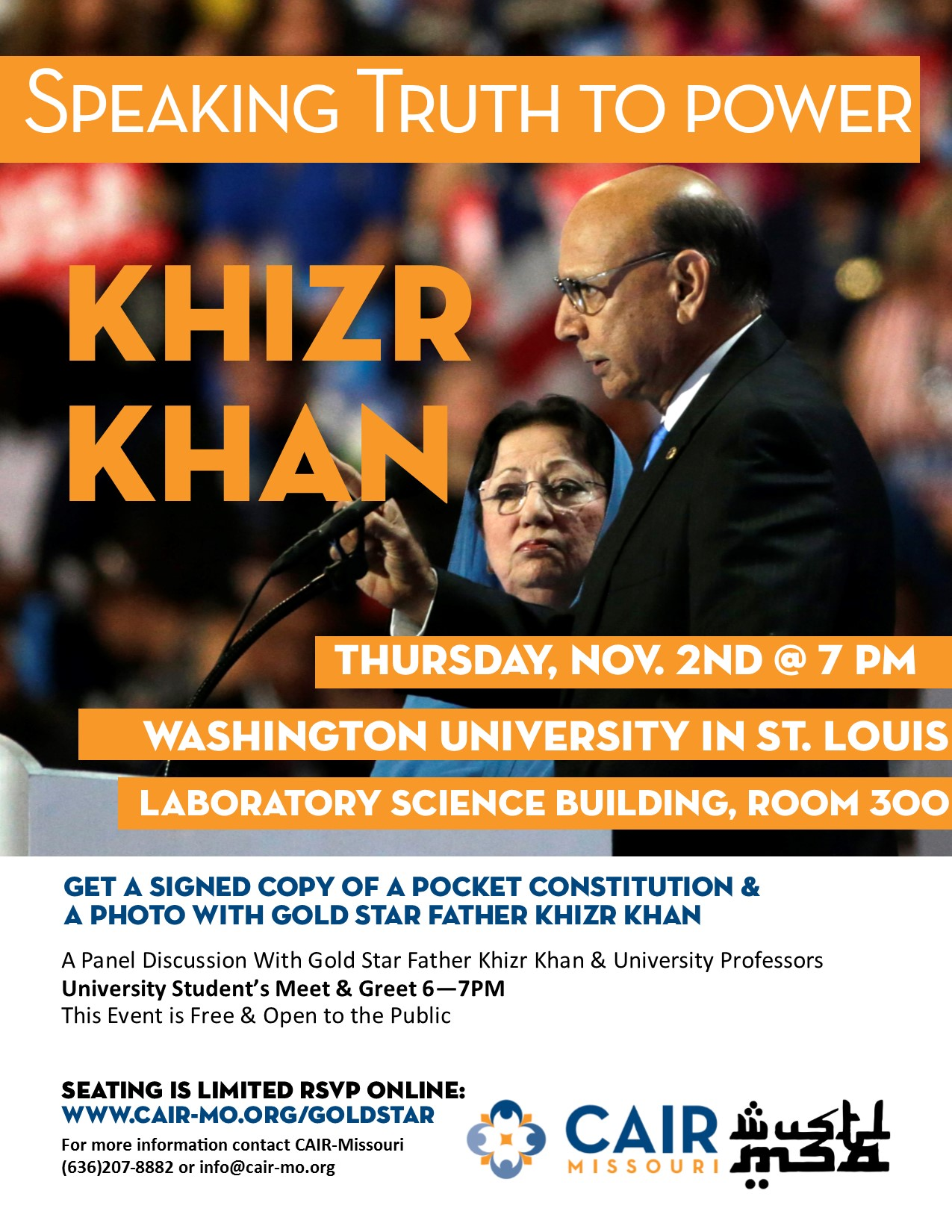 Khizr Khan Speaking Truth to Power CAIR Missouri