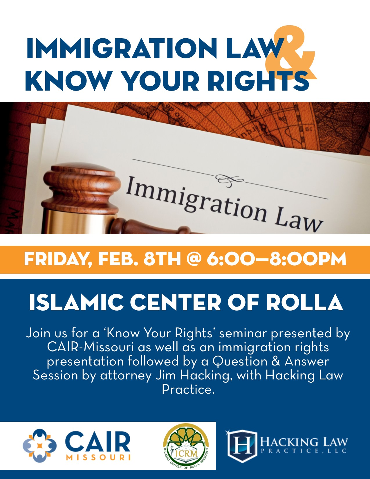 Rolla Islamic Center Flyer CAIR Missouri
