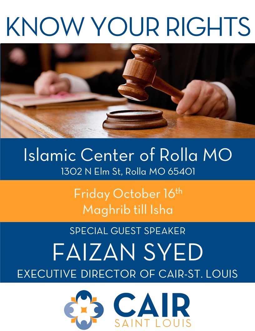 Rolla Islamic Center KYR 10 16 2015