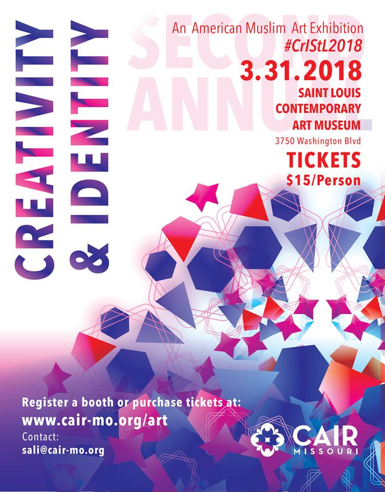 STL Muslim Art Exhibition Creativity Identity 2018 CAIR Missouri