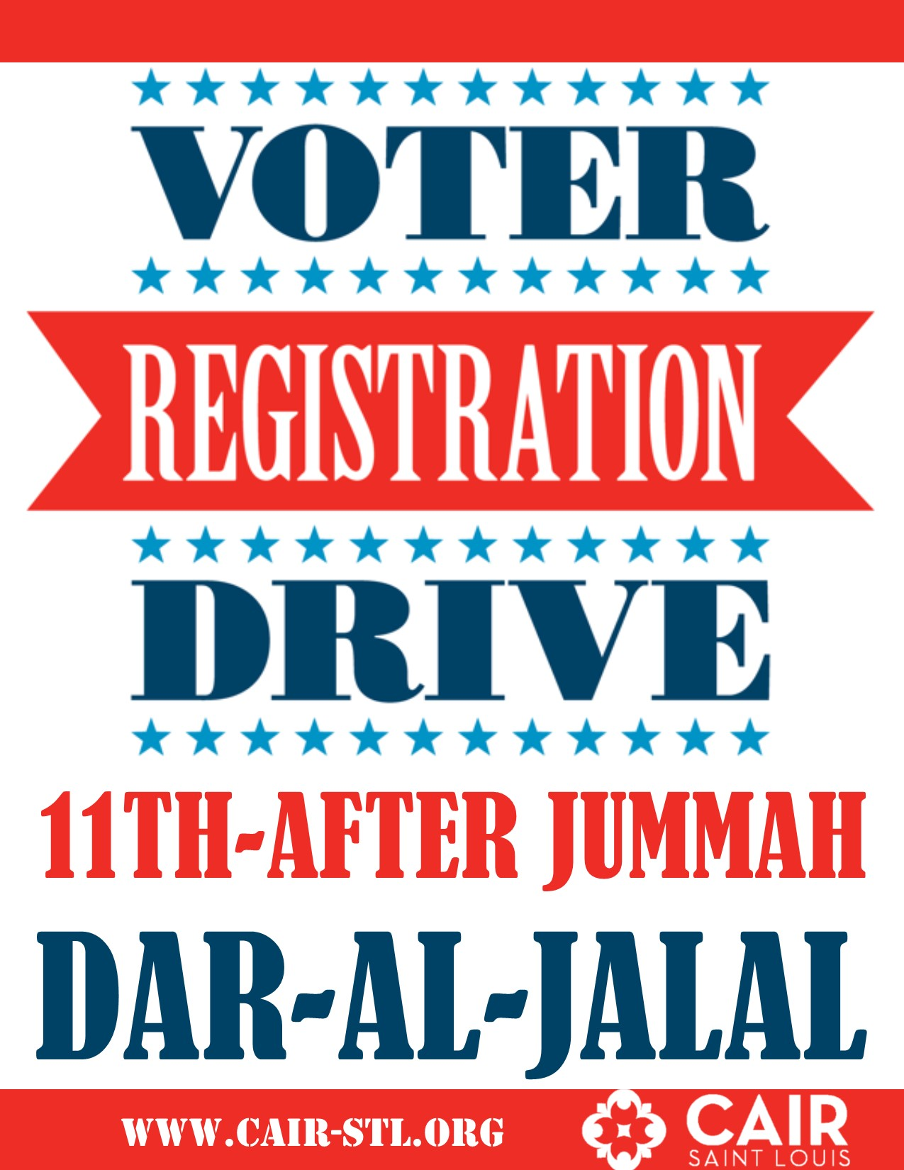 Sept 11 Rock the Vote Dar Al Jalal