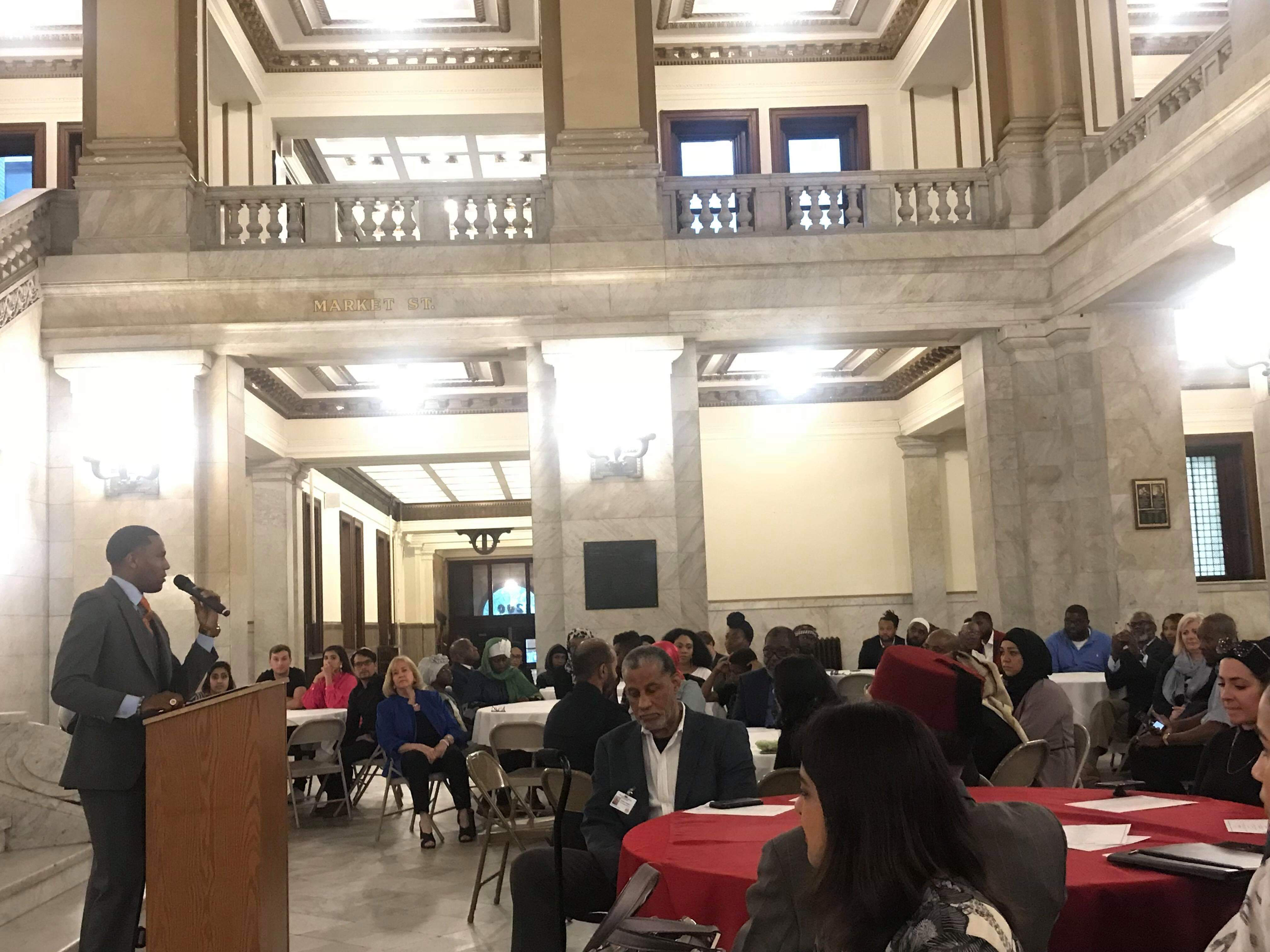 Sharing Ramadan at City Hall St. Louis CAIR Missouri Iftar