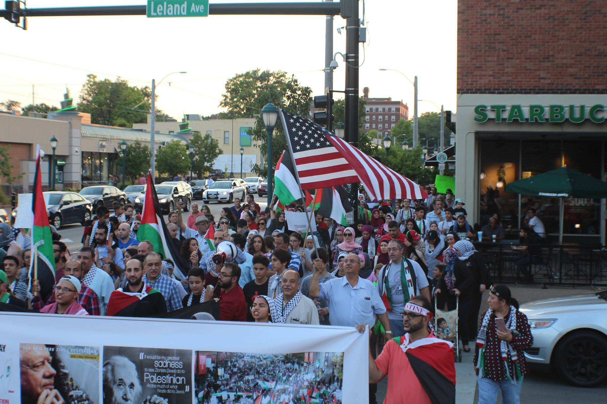 St. Louis CAIR Missouri Palestine March Jerusalem Protest Al Aqsa Rally