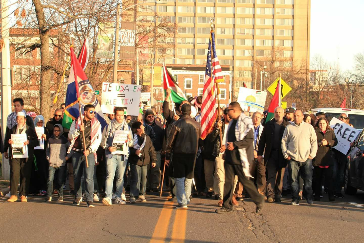 St. Louis Palestine Jerusalem CAIR Missouri March