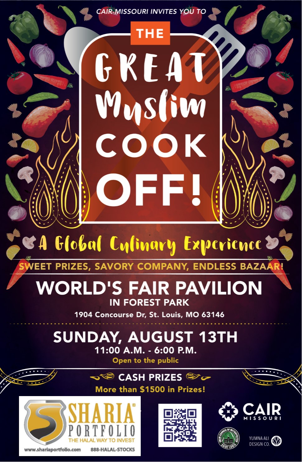 The Great Muslim Cook Off Food Festival Flyer