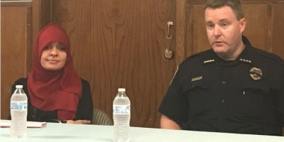 Columbia Chief of Police Meets with Muslim Community